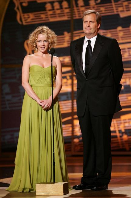 Jeff Daniels and Carla Gugino at the 61st Annual Tony Awards.
