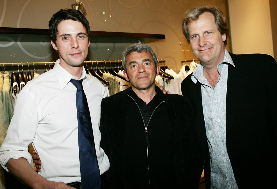 Jeff Daniels, Matthew Goode and Miramax Films President Daniel Battsek at the Miramax & Elie Tahari Host Screening Of