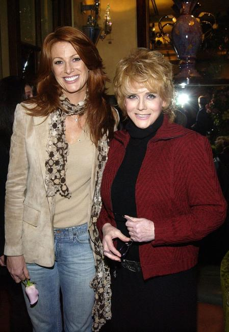 Ann Margaret and Angie Everhart at the reception of Hallmark Channel's A Taste Of Hollywood.
