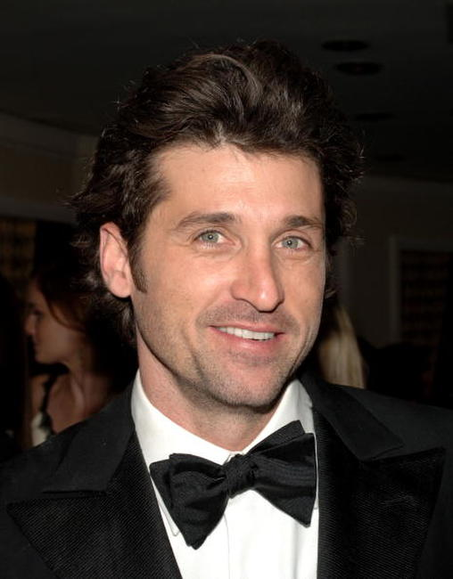 Patrick Dempsey at the FOX Golden Globe after party in Beverly Hills, California.
