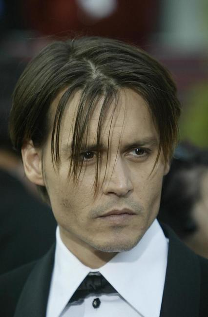 Johnny Depp at the 76th Academy Awards ceremony.