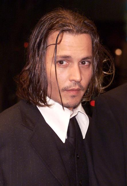Johnny Depp at the premiere of