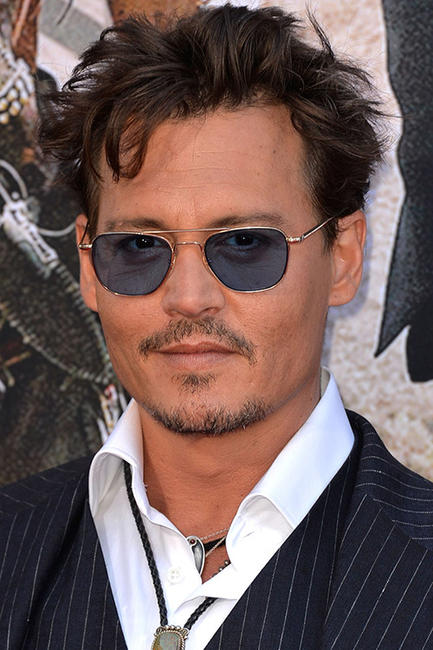 Johnny Depp at the premiere of'