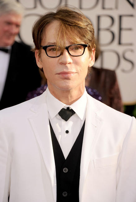 Steve Antin at the 68th Annual Golden Globe Awards in California.