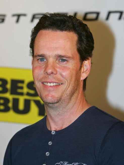 Kevin Dillon at the launch party for the new Playstation 3.