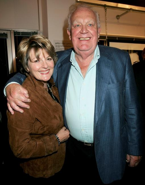 Joss Ackland and Brenda Blethyn at the Private View for