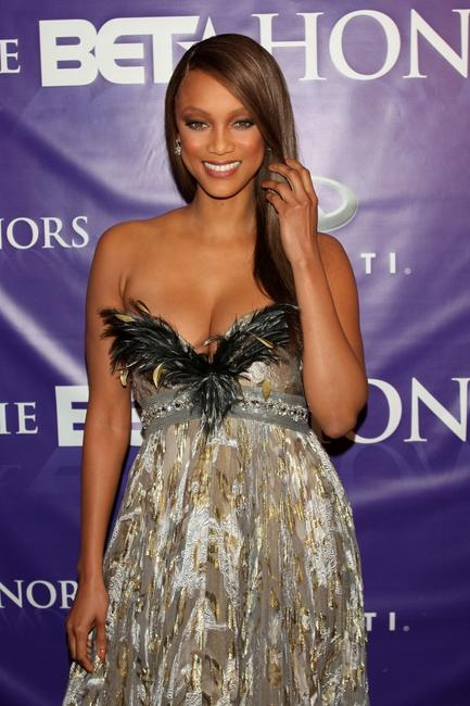 Tyra Banks at the BET Honors.