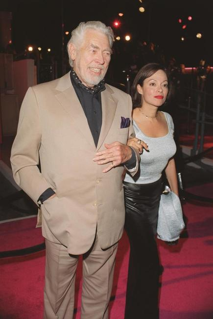 James Coburn and with wife Paula at the launch of the Absolut Tom Ford.