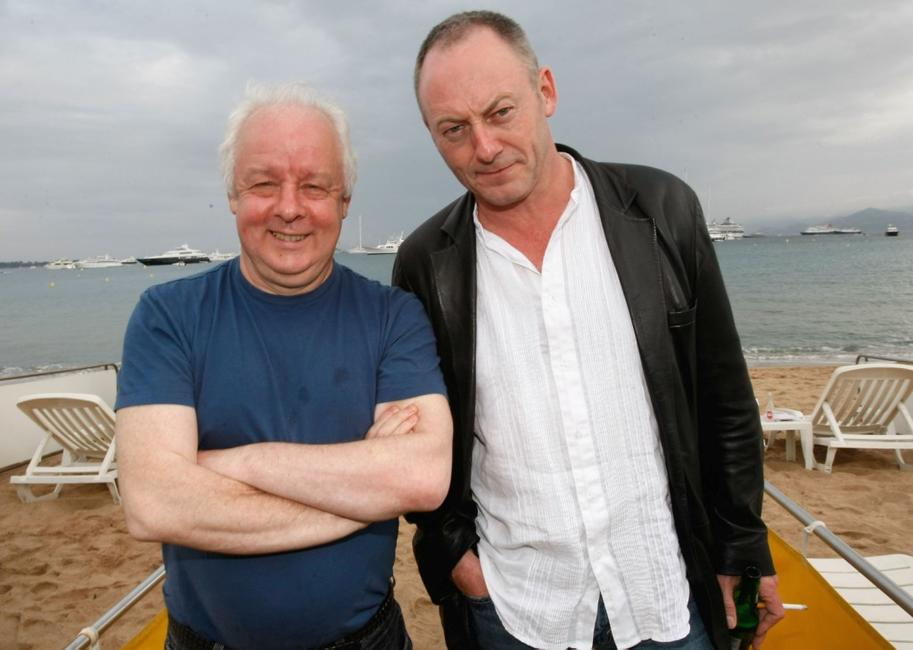 Director Jim Sheridan and Liam Cunningham at the Irish Pavillion Party during the 61st International Cannes Film Festival.