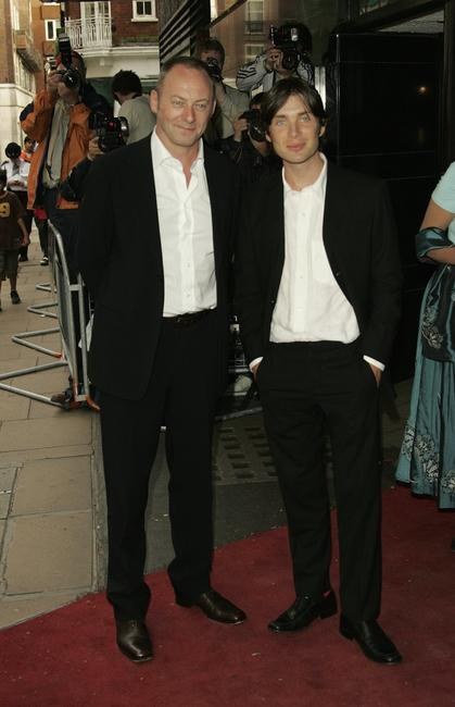 Liam Cunningham and Cillian Murphy at the UK premiere of