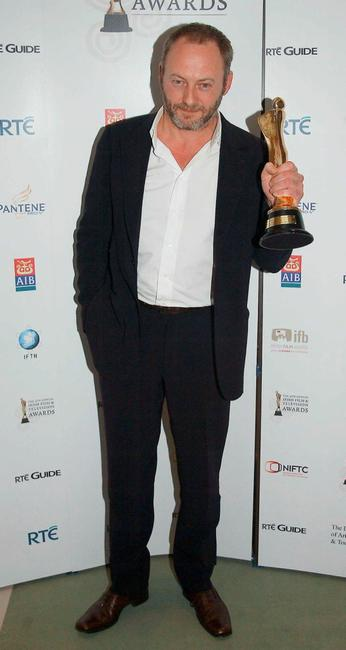 Liam Cunningham at the Irish Film and Television Awards 2007.