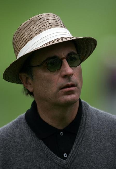 Andy Garcia at the AT&T Pebble Beach National Pro-Am.