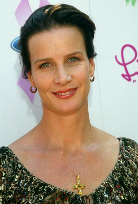 Rachel Griffiths at the Cancer Benefit