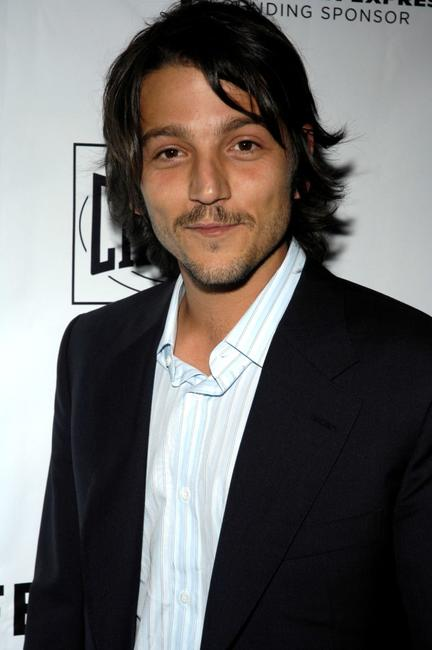 Diego Luna at the 2007 Tribeca Film Festival for