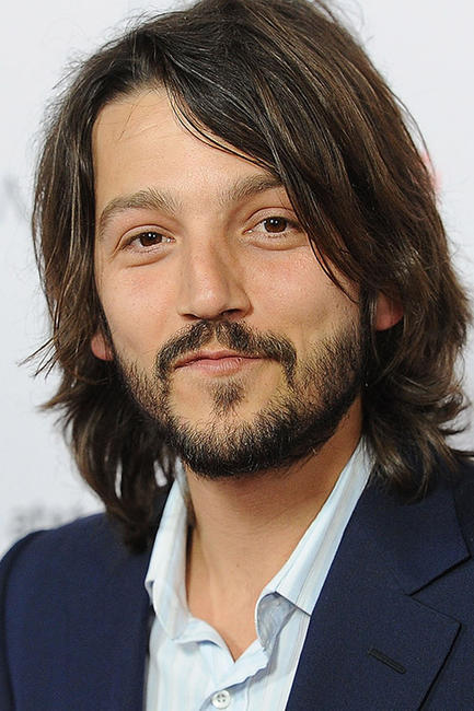 Diego Luna at the Hollywood premiere of ''Casa de mi Padre.''