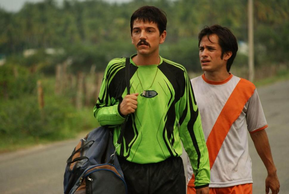 Diego Luna as Beto and Gael Garcia Bernal as Tato in