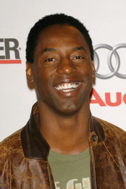 Isaiah Washington at the Hollywood Reporter 75th Anniversary Gala.