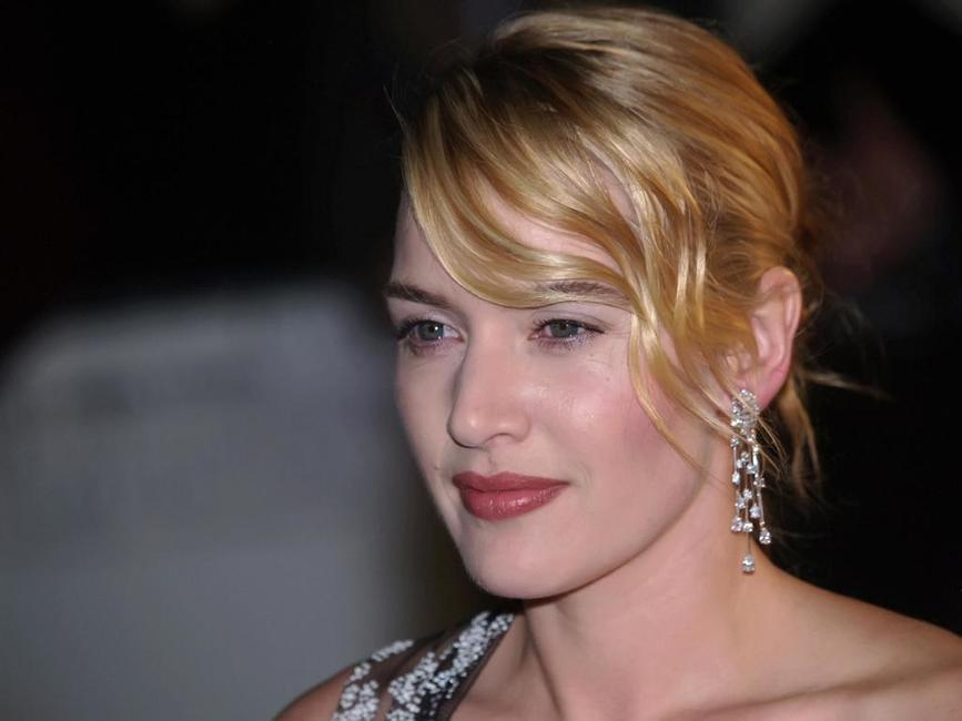 Kate Winslet at the London screening of