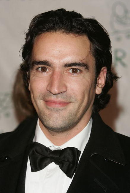 Ben Chaplin at P. Diddy's 35th birthday bash.
