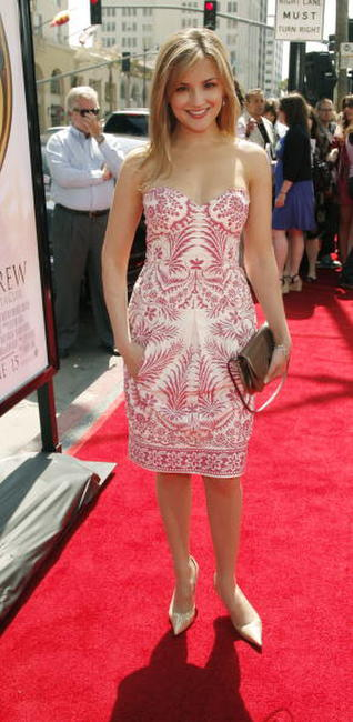 "Rachael Leigh Cook at the ""Nancy Drew"" premiere in Hollywood."