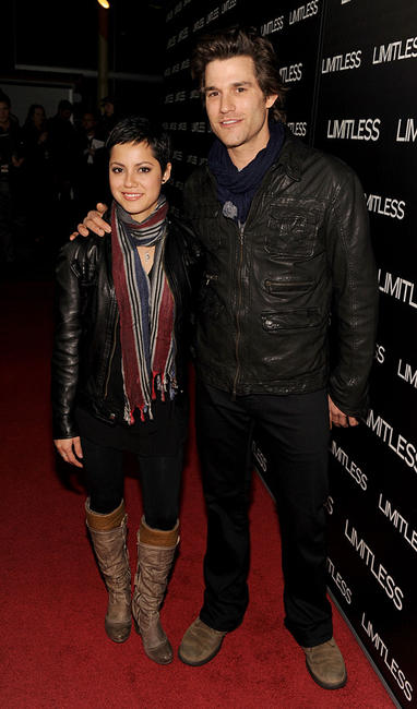 Johnny Whitworth and Guest at the Los Angeles Special screening of