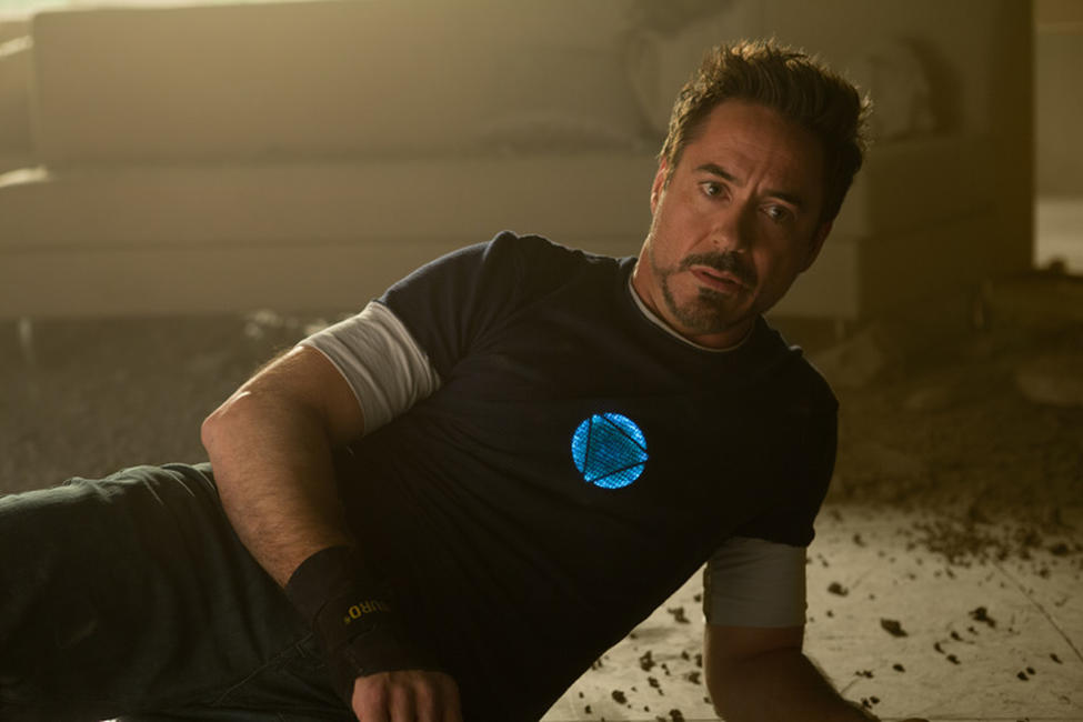 Robert Downey, Jr. as Tony Stark in