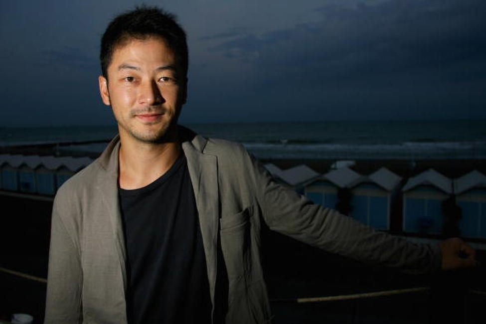 Tadanobu Asano at the Jaeger Le-Coultre.