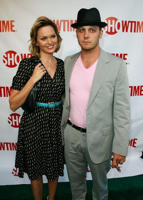Ethan Embry and wife Sunny at the premiere of