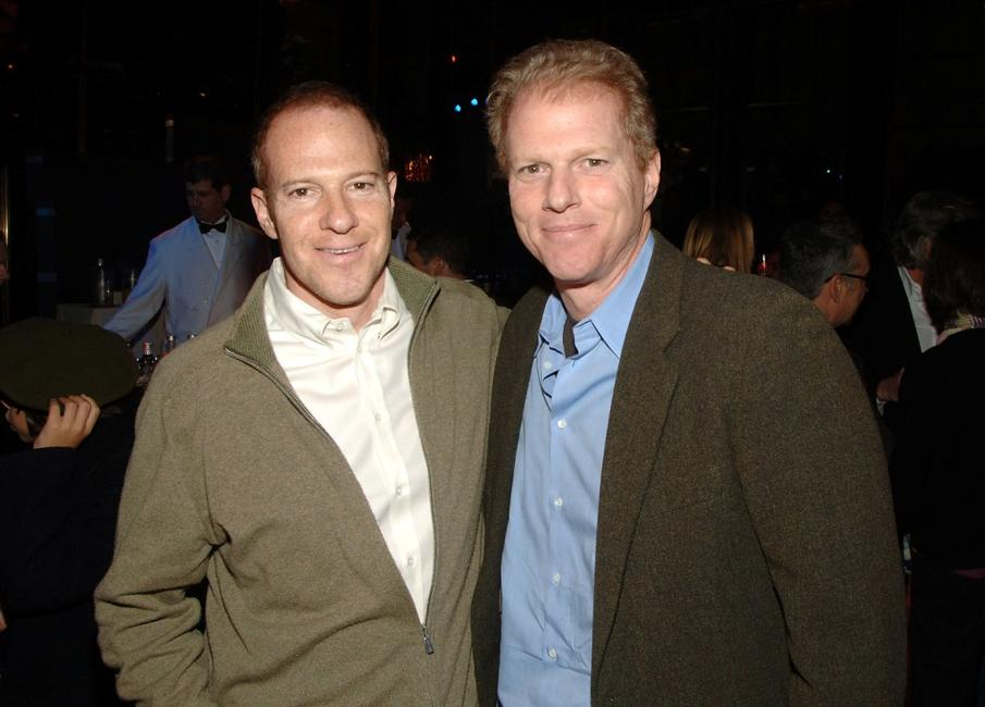 Toby Emmerich and Noah Emmerich at the after party premiere of