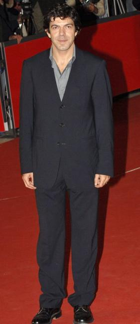 Pierfrancesco Favino at the premiere of