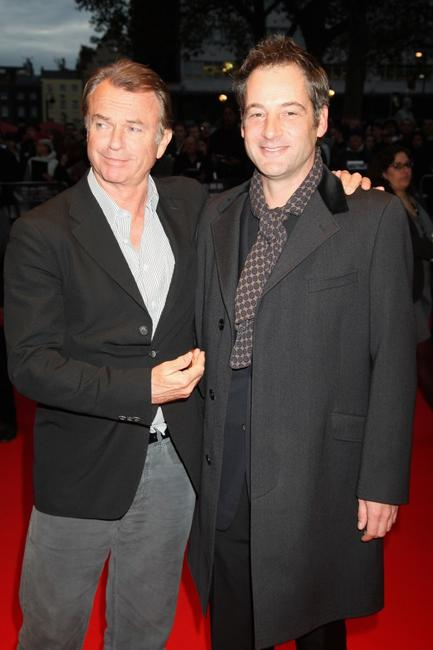 Sam Neil and Jeremy Northam at the BFI 52 London Film Festival.