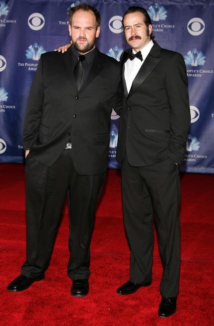 Ethan Suplee and Jason Lee at the 32nd Annual People's Choice Awards.