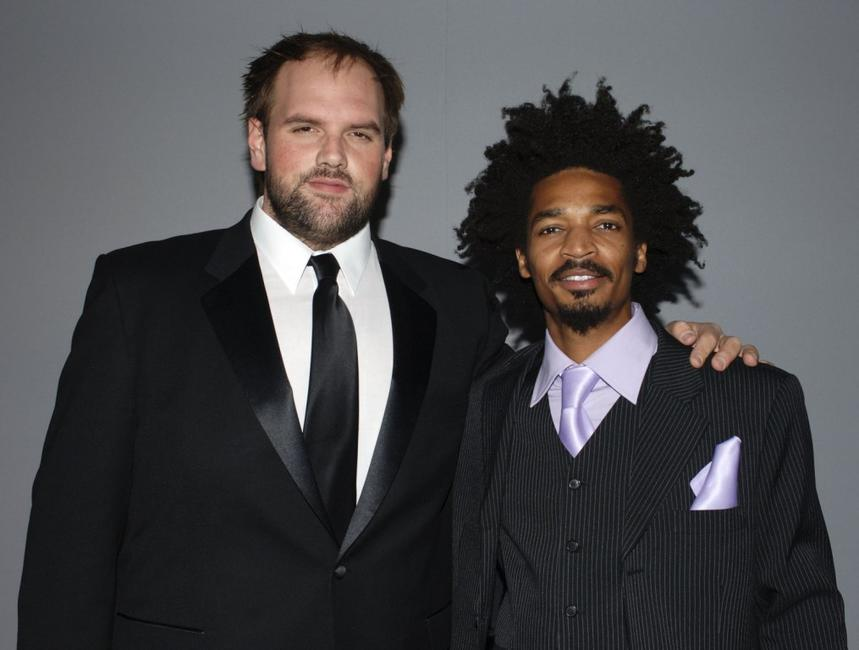 Ethan Suplee and Eddie Steeples at the 12th Annual Screen Actors Guild Awards.
