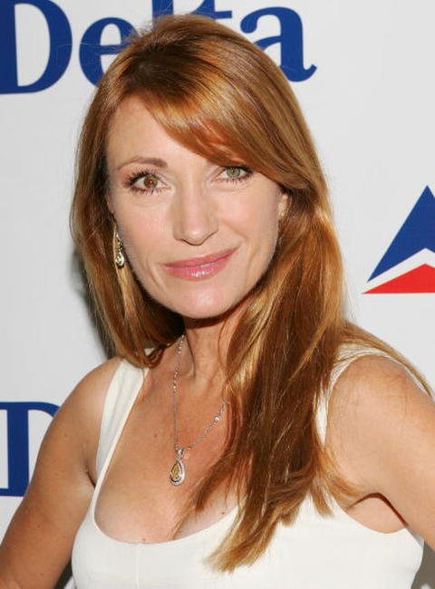 Jane Seymour at the celebration for Deltas Newest International Route.