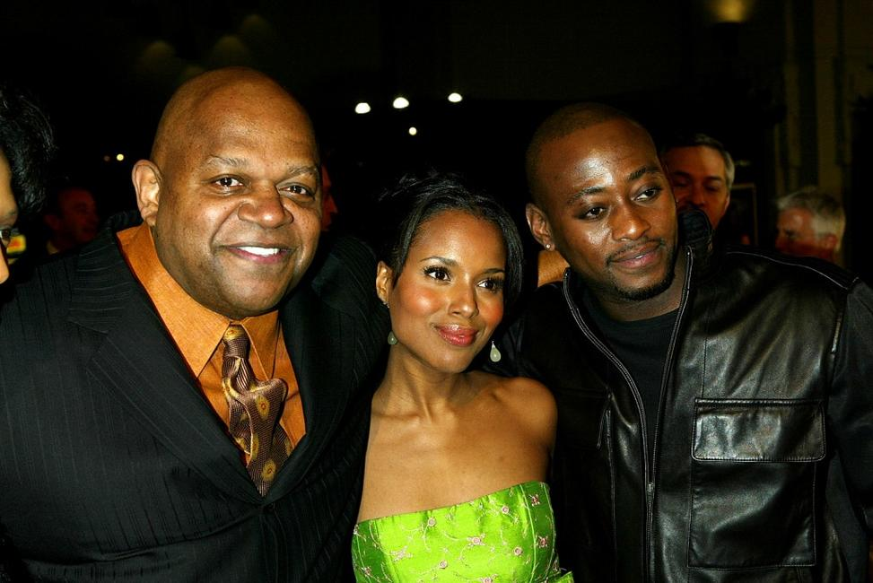 Charles S. Dutton, Kerry Washington Omar Epps at the premiere of