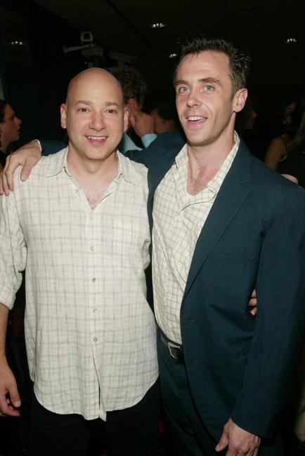 Evan Handler and David Eigenberg at the New York premiere of