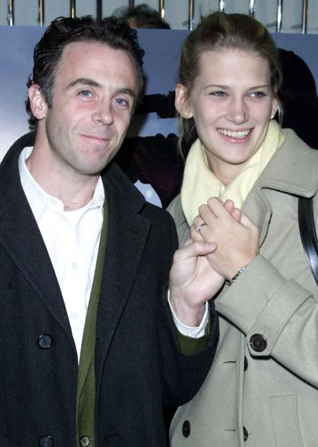 David Eigenberg and Christy at the New York screening of
