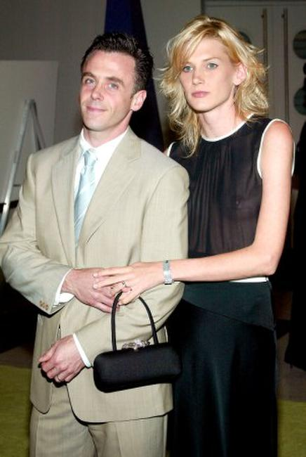 David Eigenberg and wife Chrysti at the