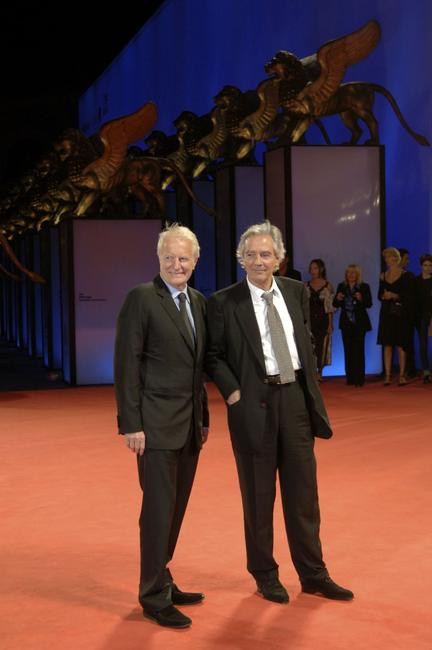 Pierre Arditi and Andre Dussollier at the premiere of the film