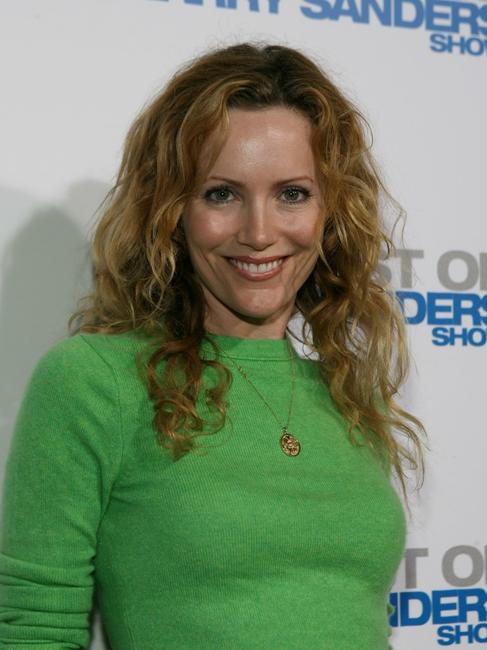 Leslie Mann at the wrap party and DVD release of