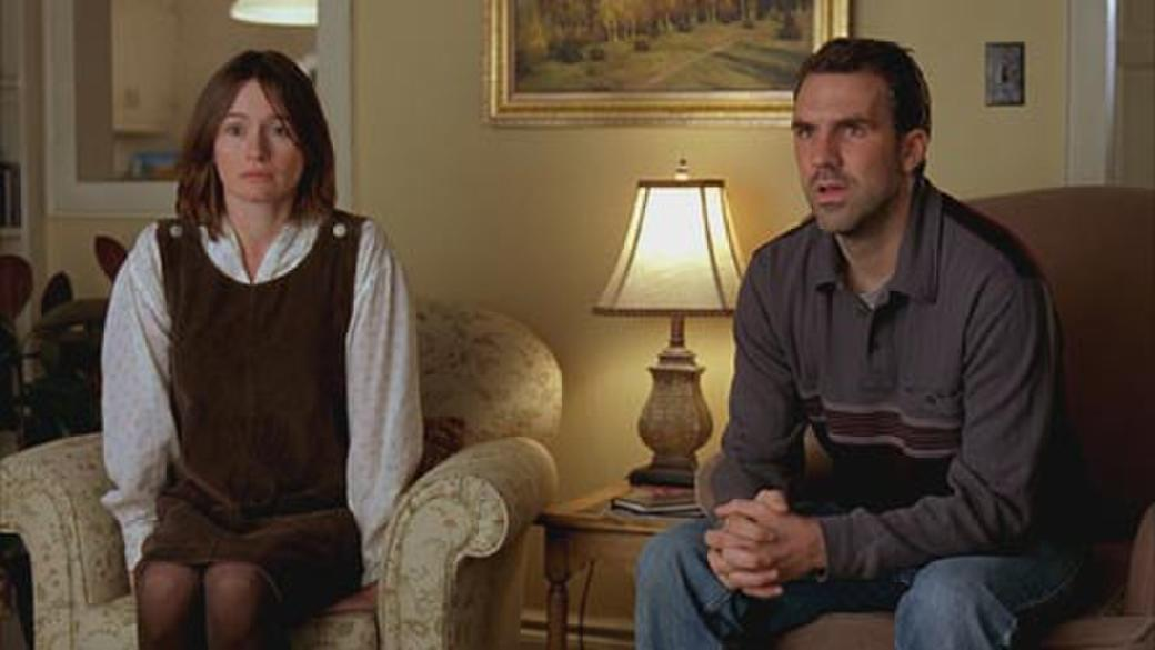 Emily Mortimer and Paul Schneider in