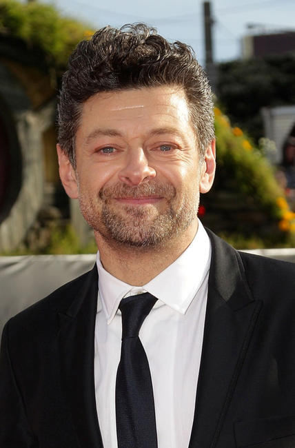 Andy Serkis at the world premiere of