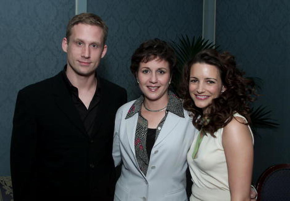 Reed Diamond, Maureen Smith and Kristin Davis at the Television Critics Association Summer Tour.
