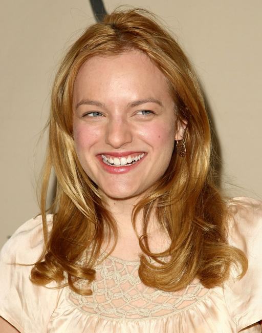 Elisabeth Moss at the Academy of Television Arts and Sciences panel discussion.
