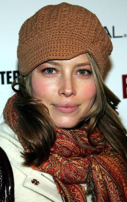Jessica Biel at the Entertainment Weekly Party at The Sundance Film Festival.