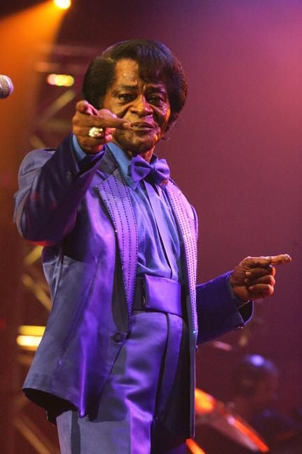 James Brown at the Roundhouse as the part of the BBC Electric Proms.