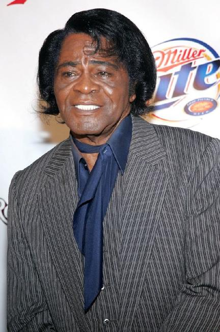 James Brown at the Miller Rock Thru Time Concert.