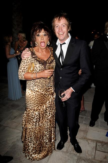 Shirley Bassey and Rhys Ifans at the landmark Grand Opening of Atlantis, The Palm Resort, and the Palm Jumeirah.