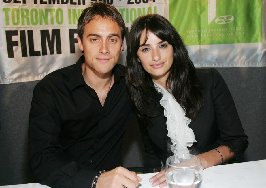 Stuart Townsend and Penelope Cruz at the press conference of