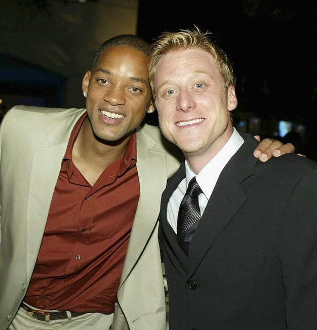 Will Smith and Alan Tudyk at the after party premiere of